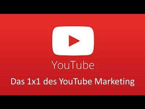 Youtube Marketing Das 1x1 des Youtube Video Marketing