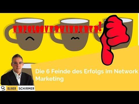 Erfolgsverhinderer - Die 6 Feinde des Erfolgs im Network Marketing