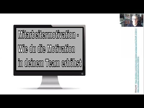 Mitarbeitermotivation - Wie du die Mitarbeitermotivation in deinem Network Marketing Team erhöhst
