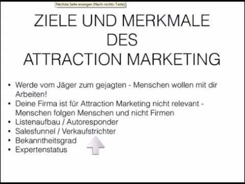 Attraction Marketing Training