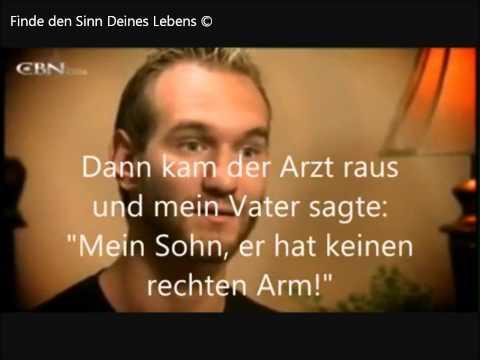 Nick Vujicic DEUTSCH - Finde den SINN DEINES LEBENS - Gott Glaube