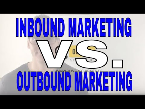 📢Inbound Marketing vs. Outbound Marketing was ist besser❓