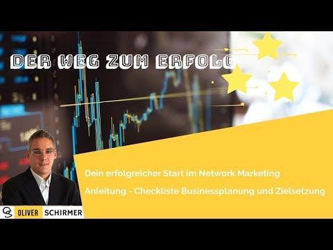 Der Weg zum Erfolg - Zielplanung im Network Marketing