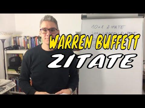 Warren Buffett Zitate - 10 plus 1 Zitate für deinen MLM Erfolg