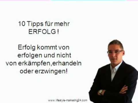10 Tipps für mehr Erfolg