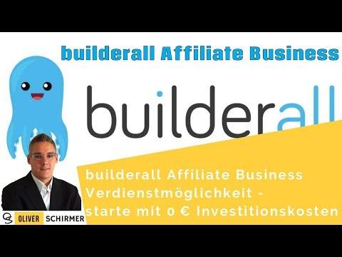 builderall Affiliate Business Verdienstmöglichkeit - starte mit 0 € Investitionskosten