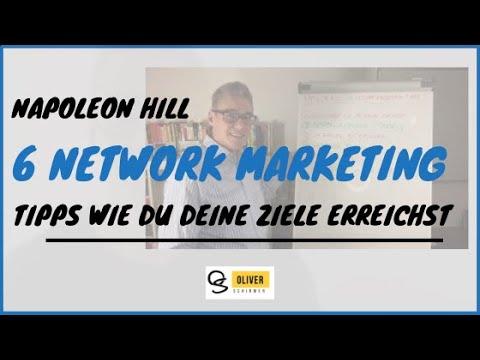 Napoleon Hill - 6 Network Marketing Tipps