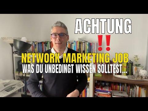 Network Marketing Job - was du vor dem Start beachten musst❗