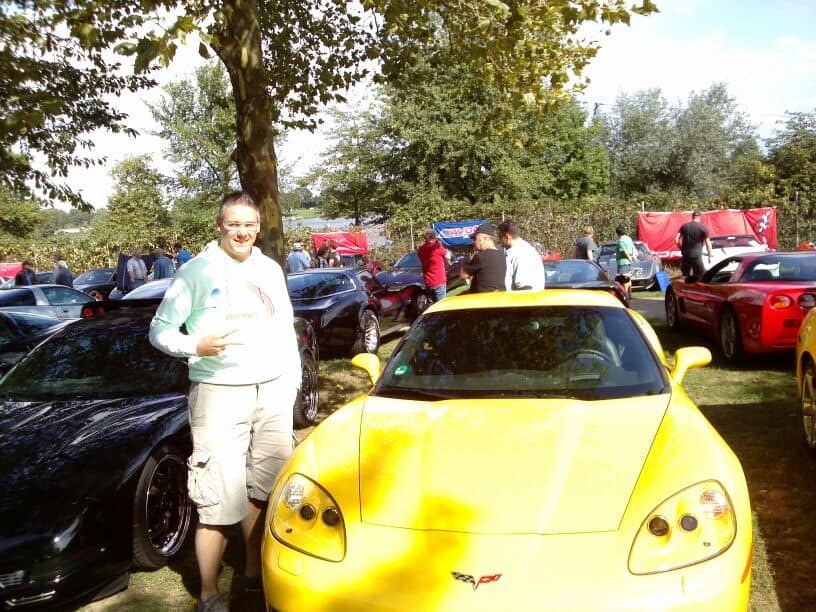 Corvette Treffen St.Leon-Rot am 01.09.2013