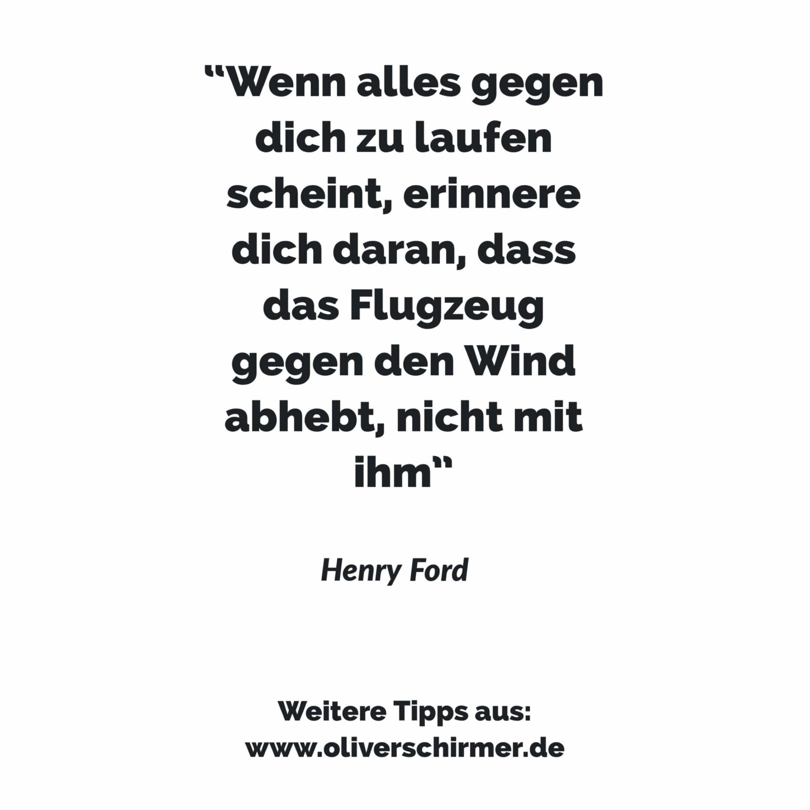 Zitat Henry Ford – Durchhaltevermögen