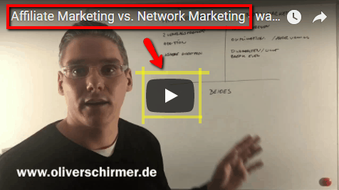 affiliate marketing vs. network marketing