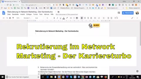 Rekrutierung im Network Marketing – Der Karriereturbo