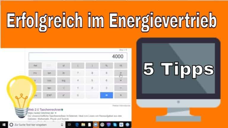 energievertrieb