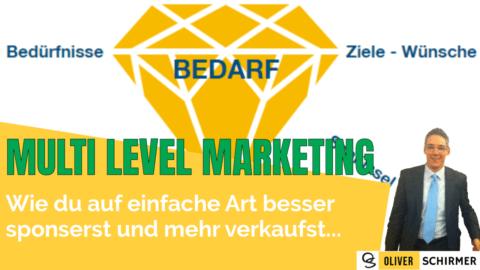 Multi Level Marketing – Auf einfache Art besser sponsern und mehr verkaufen