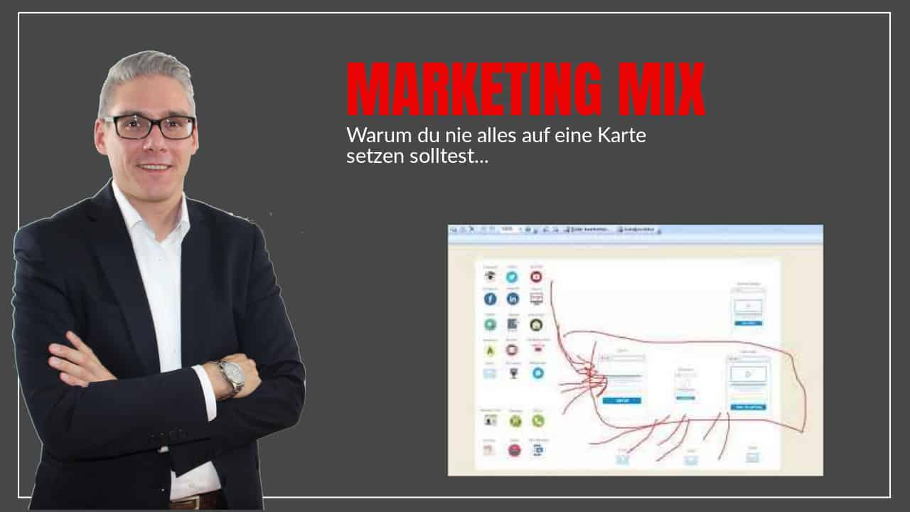 Marketing Mix – lege nie alle Eier in einen Korb