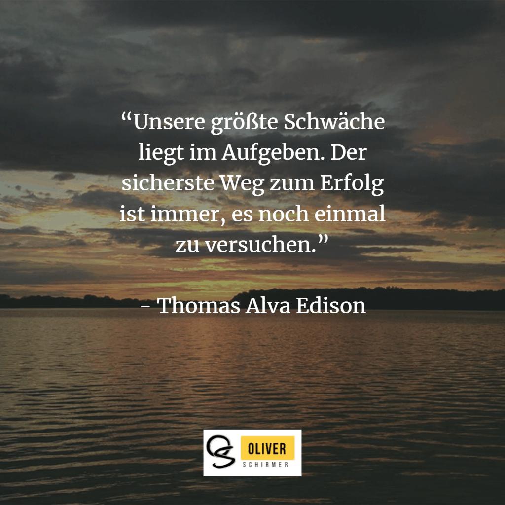 Zitat von Thomas Alva Edison