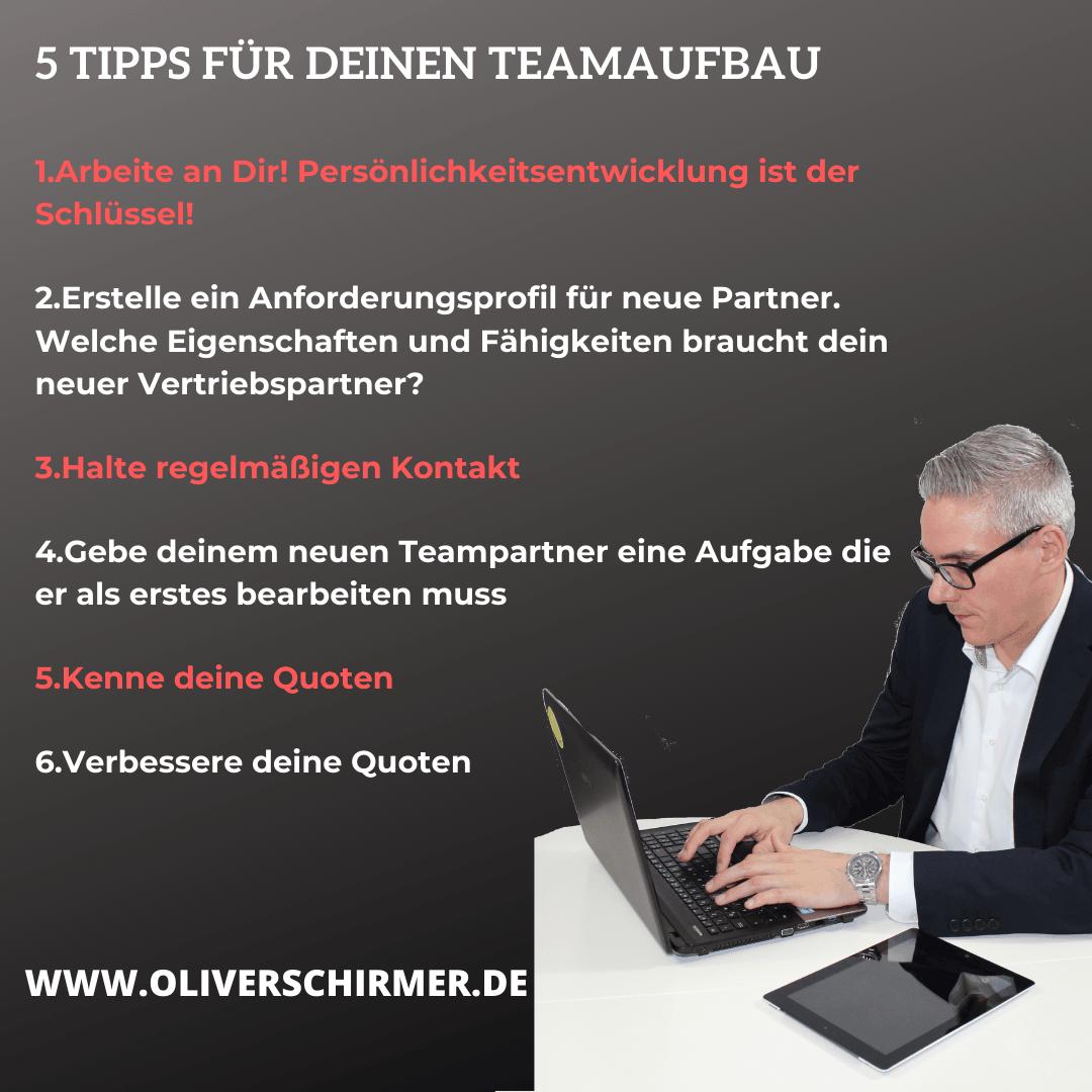 Teamaufbau-5 Tipps