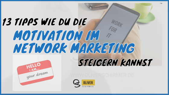 motivatin im network marketing