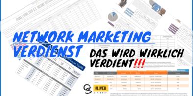 network marketing verdienst