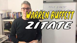 Warren Buffett Zitate – 10 plus 1 Zitate für deinen MLM Erfolg