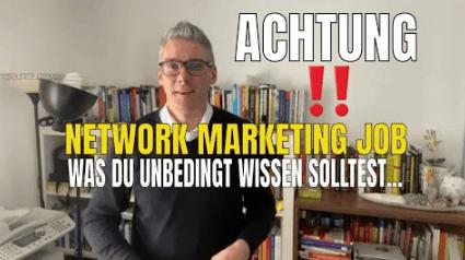 network marketing job
