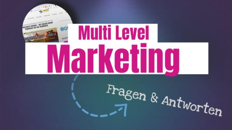 Multi Level Marketing Deutschland