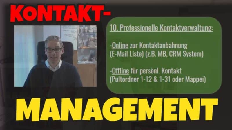 Kontaktmanagement