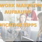 network marketing aufbauen