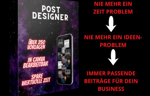 Social Media Post Designer