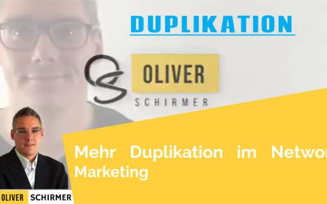 Mehr Duplikation im Network Marketing
